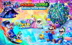 The dreamy Luigi and his brother Mario Dream TeamPlayNReview